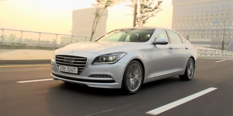 Hyundai Genesis Review: First Drive in South Korea