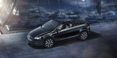 Volkswagen Golf Cabriolet Exclusive:: New model adds extra equipment