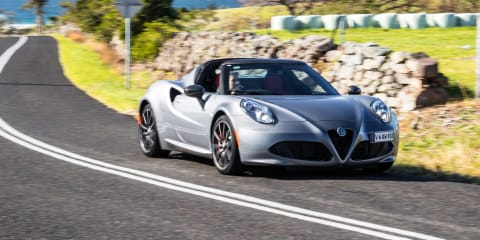 2019 Alfa Romeo 4C Spider review