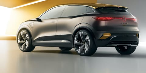 Renault Mégane eVision concept launched in France, production model slated for 2022