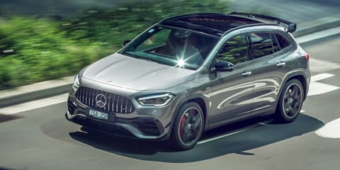 2021 Mercedes AMG GLA45 S launch review