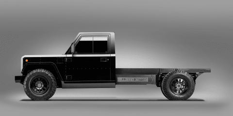 Electric ute inspired by Land Rover Defender: Bollinger B2