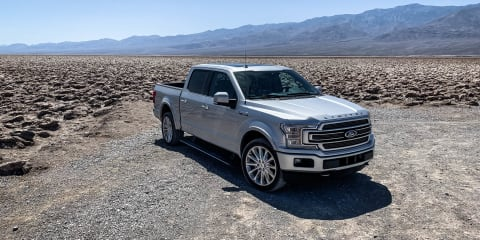 2019 Ford F-150 Limited Death Valley road trip
