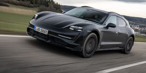 2021 Porsche Taycan Cross Turismo Prototype review