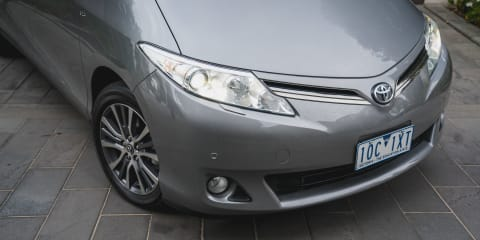 2019 Toyota Tarago recalled