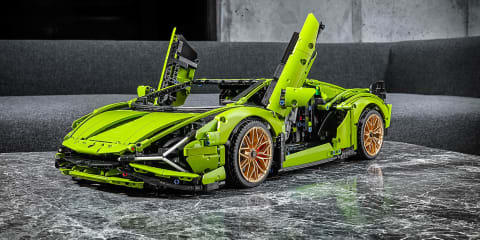 Lamborghini Sián gets the Lego treatment