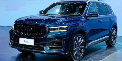 Geely Xingyue transforms Volvo's CMA platform into Chinese large SUV flagship