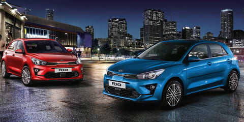 2021 Kia Rio facelift due in Australian showrooms in July