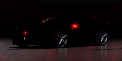 Ferrari 620 GT teaser image and video