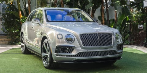 Bentley Bentayga First Edition revealed