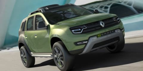 Renault DCross concept gets rugged in Brazil
