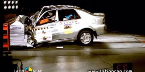 Video: Geely CK1 gets zero stars from NCAP crash test