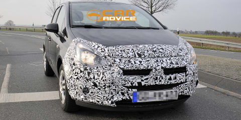 Opel Corsa facelift spied; next-gen hatch on hold