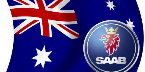 Saab back in Australia