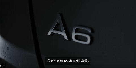 2018 Audi A6 teased - Video