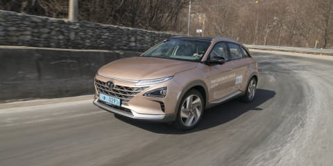 Hyundai Nexo scores top marks in IIHS crash testing