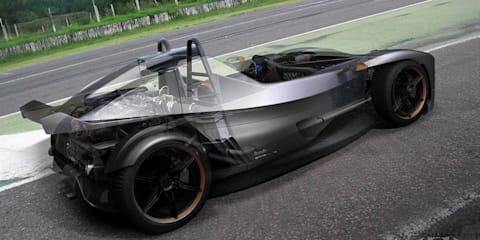 Donto P1 sports car