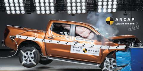 Nissan Navara NP300 five-star ANCAP rated