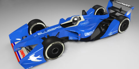 Bluebird DC50 electric sports car, GTL Formula E racer set for launch