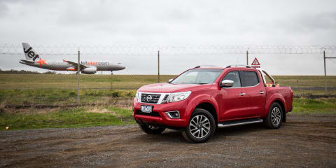 Nissan Navara sales booming, number three ute in November