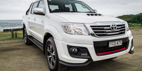 2015 Toyota HiLux Review: Black Edition