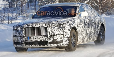 2020 Rolls-Royce Ghost spied again