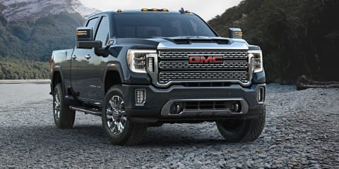 2020 GMC Sierra Heavy Duty makes trailers transparent