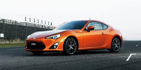 Toyota 86 sports car revealed: official pictures & details