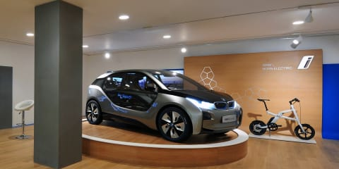BMW reveals first i Store for electric vehicles