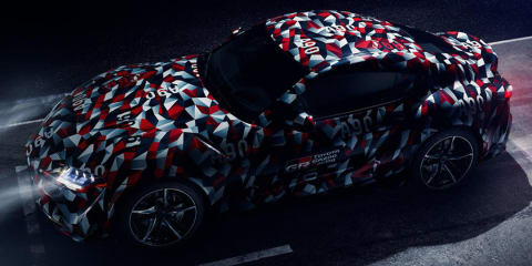 2019 Toyota Supra teased ahead of Goodwood showing