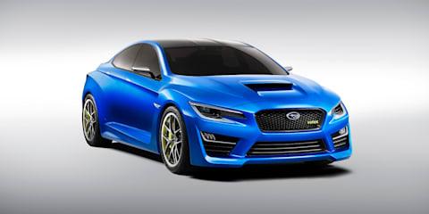 Subaru WRX concept: design breakdown