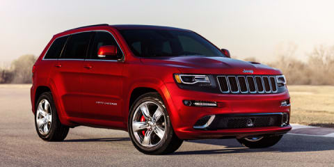 2014 Jeep Grand Cherokee SRT unveiled