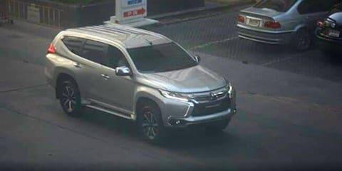2016 Mitsubishi Challenger spied undisguised