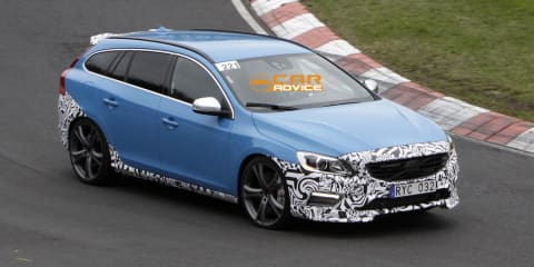 Volvo V60 Polestar: hot Swedish wagon spied lapping Nurburgring