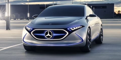 Mercedes-Benz EQA previewed – Video