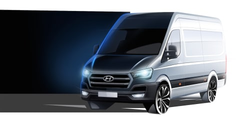 Hyundai H350 van teased : Australia keen, but no RHD at this stage