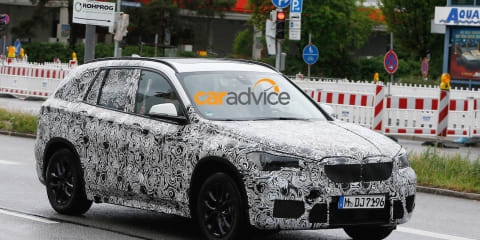 2015 BMW X1: Second-generation model spied in Europe