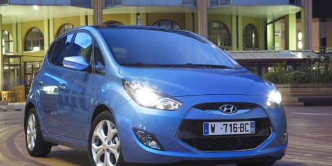 Hyundai ix20 Blue unveiled at Paris Motor Show