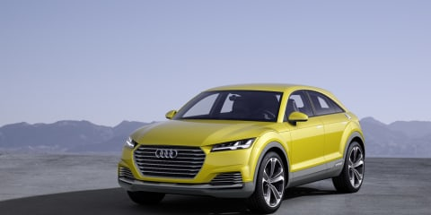 Audi TT Offroad Concept revealed :: SUV spinoff debuts at Beijing auto show