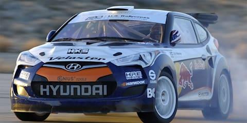 2011 Hyundai Veloster RMR rally car unveiled