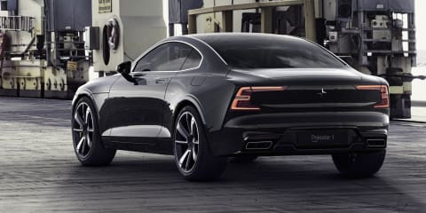 Polestar 1: Hybrid Swede put through its paces - Video