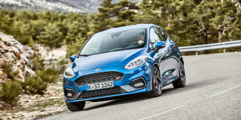 Ford Fiesta ST faces off with hot-hatch rivals - video