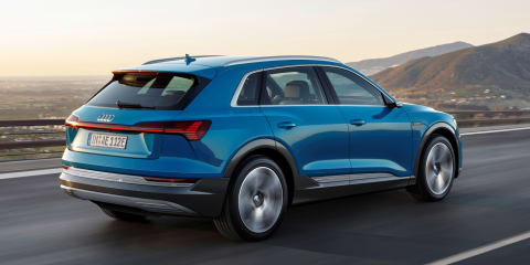 Audi isn't making EVs for emissions, but 'because the customer wants to buy it'