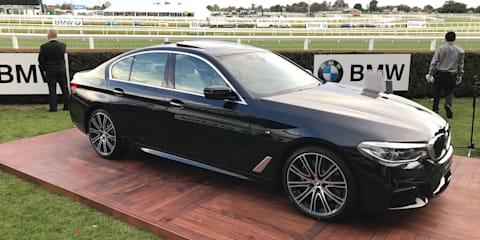 2017 BMW 5 Series G30:: Australian first-look walkaround