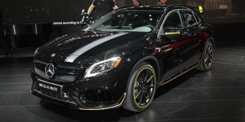 2017 Mercedes-Benz GLA and Mercedes-AMG GLA45 facelifted models revealed