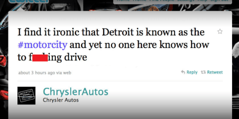 Chrysler Twitter page employee uses f-word