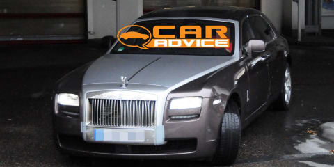 Rolls Royce Ghost LWB spy photos