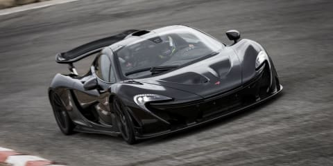 McLaren P1 supercar undergoes final testing in the US: video