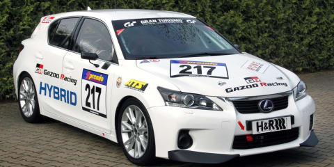 Lexus CT 200h Gazoo Racing enters VLN Nurburgring