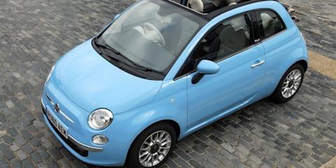 2012 Fiat 500C TwinAir confirmed for Australia